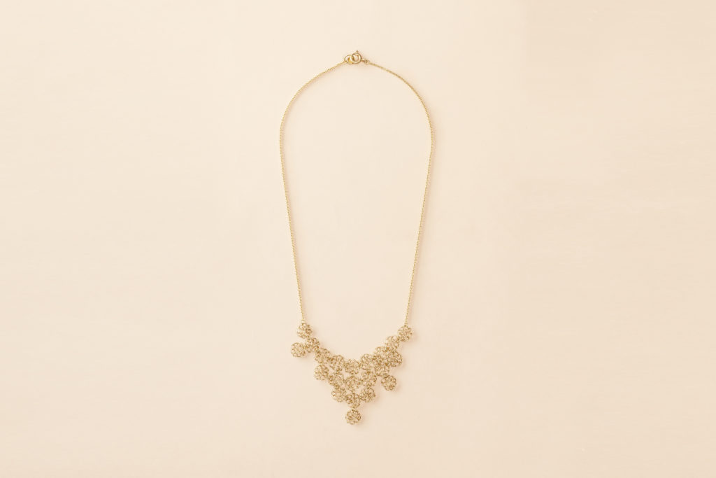 18KT yellow gold necklace - Un Insieme